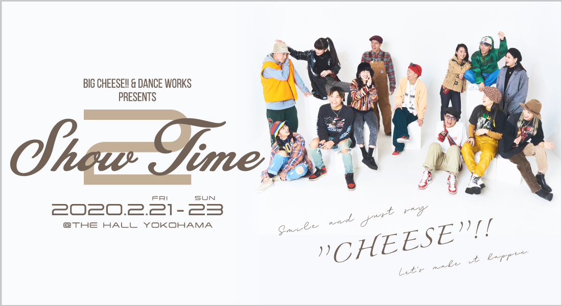 BIG CHEESE 「SHOW TIME vol.2」